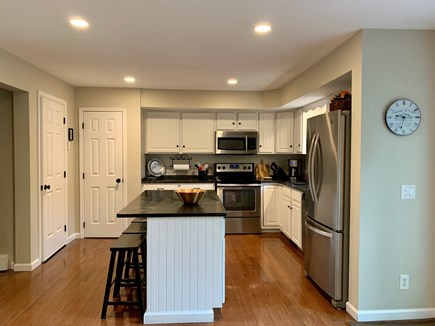 Oak Bluffs Martha's Vineyard vacation rental - Kitchen with seating for 3 at the island