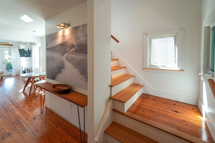 Oak Bluffs, #CozyBluffs Martha's Vineyard vacation rental - Stairs to bedroom and loft