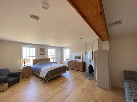 West Tisbury Martha's Vineyard vacation rental - Master bedroom with fireplace and en suite bath