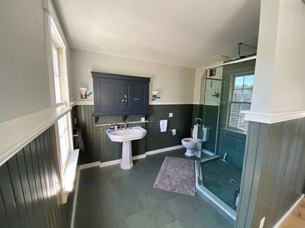 West Tisbury Martha's Vineyard vacation rental - Master bath