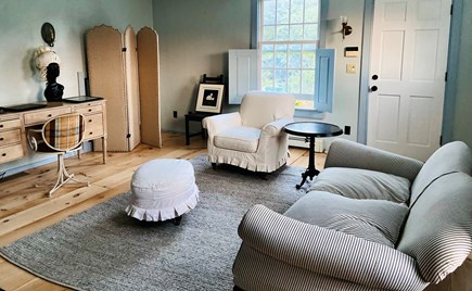 West Tisbury Martha's Vineyard vacation rental - Office with private entrance
