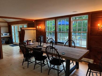 West Tisbury Martha's Vineyard vacation rental - Dining seats 8 comfortably