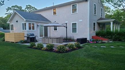 Edgartown Martha's Vineyard vacation rental - Back patio