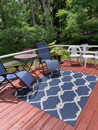 Oak Bluffs Martha's Vineyard vacation rental - Deck on the back of the house.