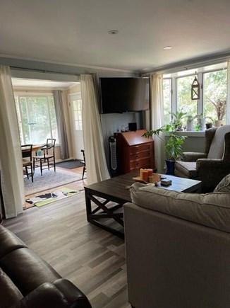 Oak Bluffs Martha's Vineyard vacation rental - Living room to dining room.