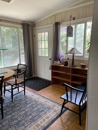 Oak Bluffs Martha's Vineyard vacation rental - Dining room and front door.