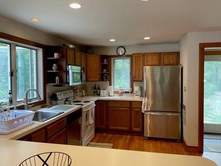 Oak Bluffs, Harthaven Martha's Vineyard vacation rental - Spacious kitchen with breakfast counter.