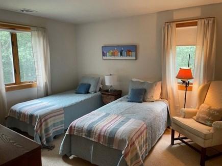 Oak Bluffs, Harthaven Martha's Vineyard vacation rental - First-floor bedroom with twins