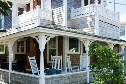 Oak Bluffs Martha's Vineyard vacation rental - Front porch & 2 private balconies with beautiful views