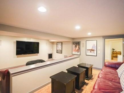 Edgartown Martha's Vineyard vacation rental - Media Room