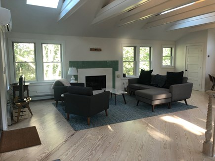 Aquinnah Martha's Vineyard vacation rental - Top floor living room area.