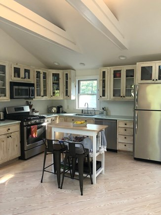 Aquinnah Martha's Vineyard vacation rental - Top floor kitchen.