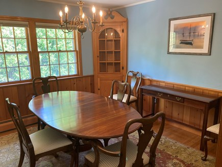 EDGARTOWN Historic District Martha's Vineyard vacation rental - Dining room with seating for 6.
