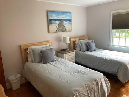 EDGARTOWN Historic District Martha's Vineyard vacation rental - Bedroom 2 has two twin beds.