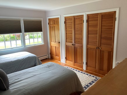 EDGARTOWN Historic District Martha's Vineyard vacation rental - Bedroom 2 has three closets.