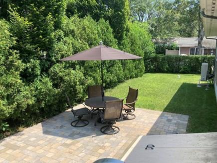 EDGARTOWN Historic District Martha's Vineyard vacation rental - Private backyard setting.