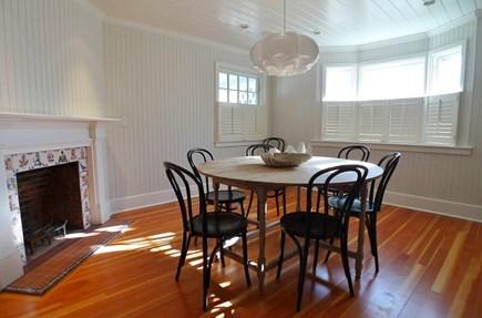 Oak Bluffs Martha's Vineyard vacation rental - Dining with Fireplace