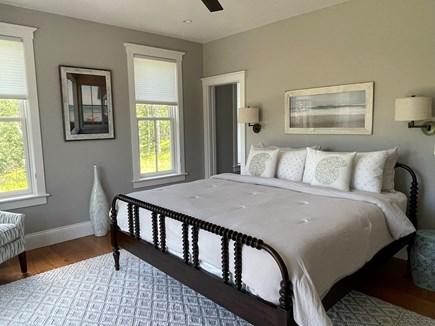 Oak Bluffs Martha's Vineyard vacation rental - 1st Floor Master Bedroom #1 with Patio.