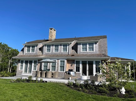 Oak Bluffs Martha's Vineyard vacation rental - Exterior with Entire Patio and Deck.