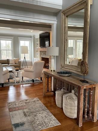 Oak Bluffs Martha's Vineyard vacation rental - Entry Way Facing the Living Room.