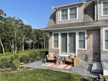 Oak Bluffs Martha's Vineyard vacation rental - Comfortable Patio Outside Master Bedroom #1.