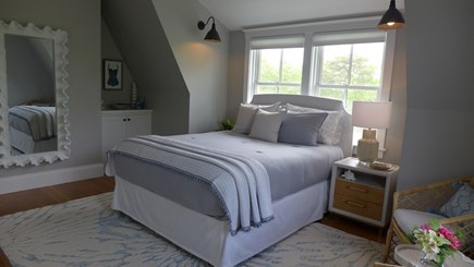 Oak Bluffs Martha's Vineyard vacation rental - View of Bedroom #2 With Full Body Mirror.