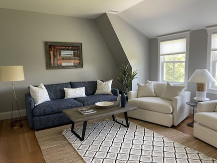 Oak Bluffs Martha's Vineyard vacation rental - View of Cozy Family Room on 2nd Floor.