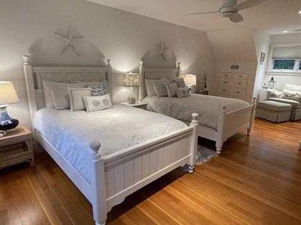Oak Bluffs Martha's Vineyard vacation rental - 2nd Floor Bedroom with 2 Double Beds.