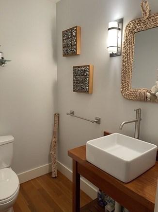 Oak Bluffs Martha's Vineyard vacation rental - Half Bathroom on First Floor.