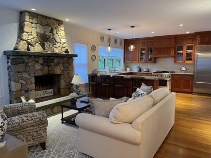 Oak Bluffs Martha's Vineyard vacation rental - Beautiful Stone Fireplace.