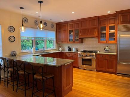 Oak Bluffs Martha's Vineyard vacation rental - Chef's Kitchen with Island.