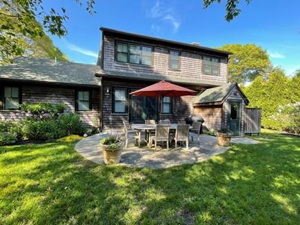 Oak Bluffs Martha's Vineyard vacation rental - Back yard is great for relaxing.