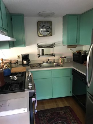 Oak Bluffs Martha's Vineyard vacation rental - Kitchen, fully equipped, with double doors to deck.