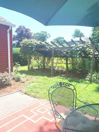 Oak Bluffs Martha's Vineyard vacation rental - Another View of Back Yard.