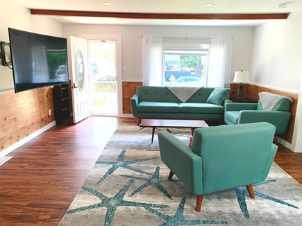 Oak Bluffs Martha's Vineyard vacation rental - Relax in the living room after a day at the beach or exploring.