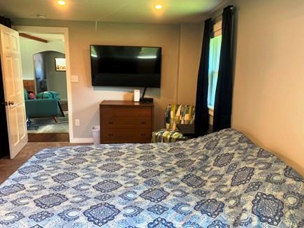 Oak Bluffs Martha's Vineyard vacation rental - Spacious master bedroom with TV.