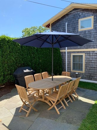 Oak Bluffs Martha's Vineyard vacation rental - Patio Complete with Grill