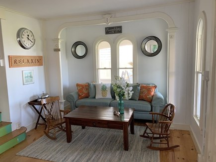 Oak Bluffs Martha's Vineyard vacation rental - Comfy couch in the Living Room