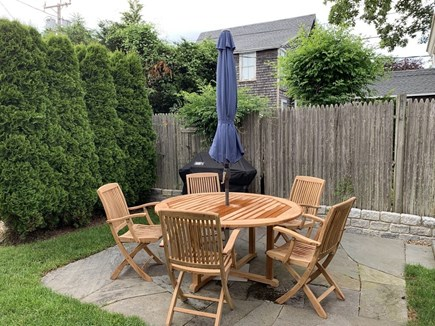 Oak Bluffs Martha's Vineyard vacation rental - A cute patio that's great for outdoor eating!