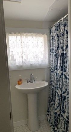 Oak Bluffs Martha's Vineyard vacation rental - A personal bathroom in the queen bedroom on the second floor.