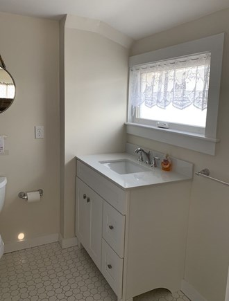 Oak Bluffs Martha's Vineyard vacation rental - Bathroom sink with great lighting!
