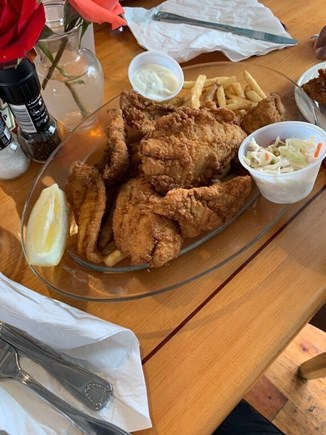Oak Bluffs Martha's Vineyard vacation rental - Munch on delicious fish and chips at the Black Dog Restaurant