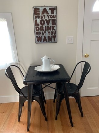 Oak Bluffs Martha's Vineyard vacation rental - A great place for morning coffee!
