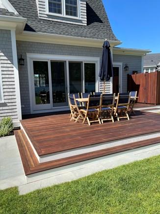Edgartown Martha's Vineyard vacation rental - Outdoor Deck and Outdoor Shower