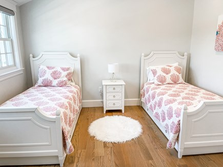 Edgartown Martha's Vineyard vacation rental - 3rd Bedroom 2nd floor 2 Twin Beds with Trundles