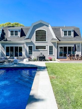 Edgartown Martha's Vineyard vacation rental - Back of House and Pool
