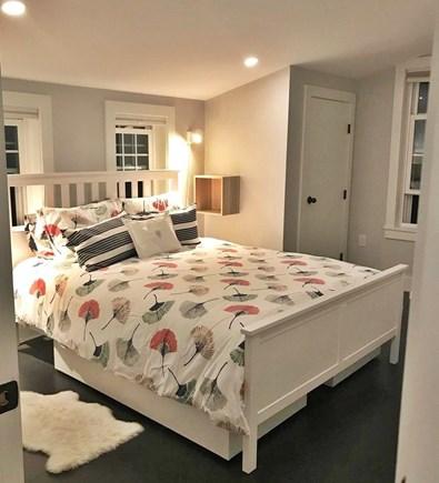 Edgartown Martha's Vineyard vacation rental - Queen bedroom, cross ventilation and split AC.