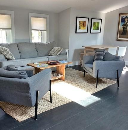 Edgartown Martha's Vineyard vacation rental - Living area. Sleep sofa.