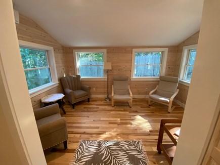 Edgartown Martha's Vineyard vacation rental - Sunroom