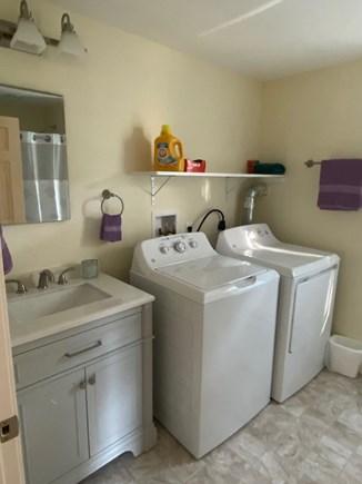 Edgartown Martha's Vineyard vacation rental - Bath with Shower Stall, Washer & Dryer